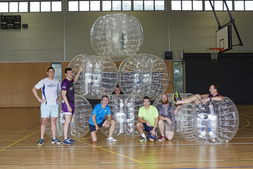 Bubble Soccer on the Sunshine Coast